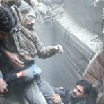 Al-Ghouta Missiles raced International moves to Cease Fire