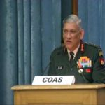 Speaking on the Pakistan Army and the Bangladeshi infiltration