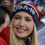 Ivanka Trump presents at the Snowboarding Events