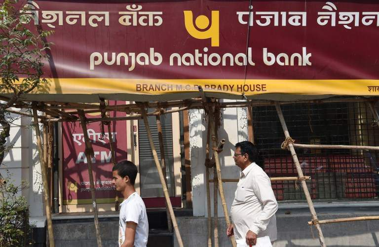 Punjab National Bank (File photo | AFP)