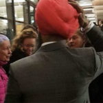Racial attacks on Indian Sikhs outside British Parliament