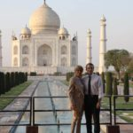 Emmanuel and Brigitte Macron's Visit to Taj Mahal in India