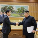 Kim Jong Un and emissaries from the South discuss an inter-Korean summit