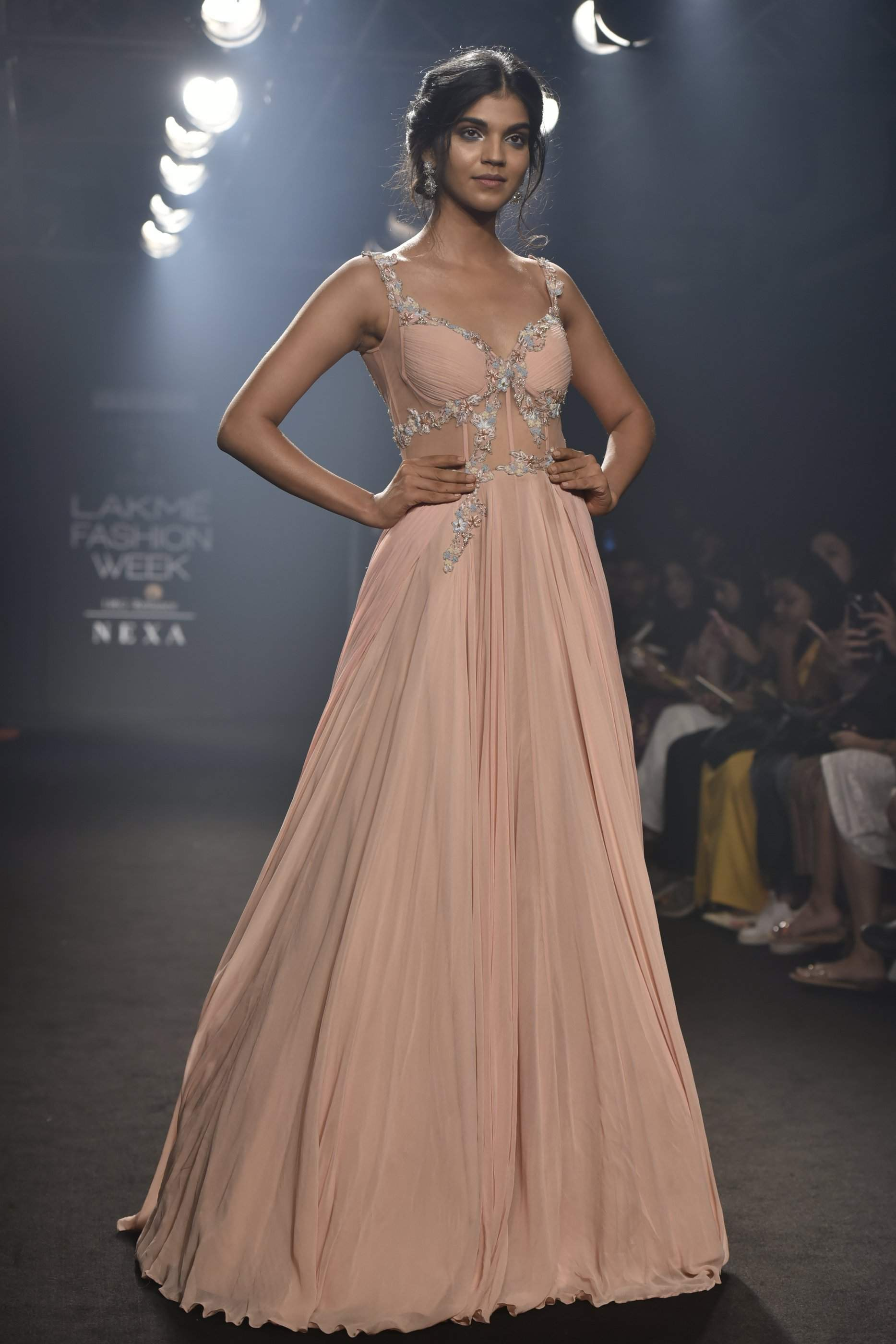 "The Mumbai Based Designer Showcased her new winter festive collection ""ABJINI"""