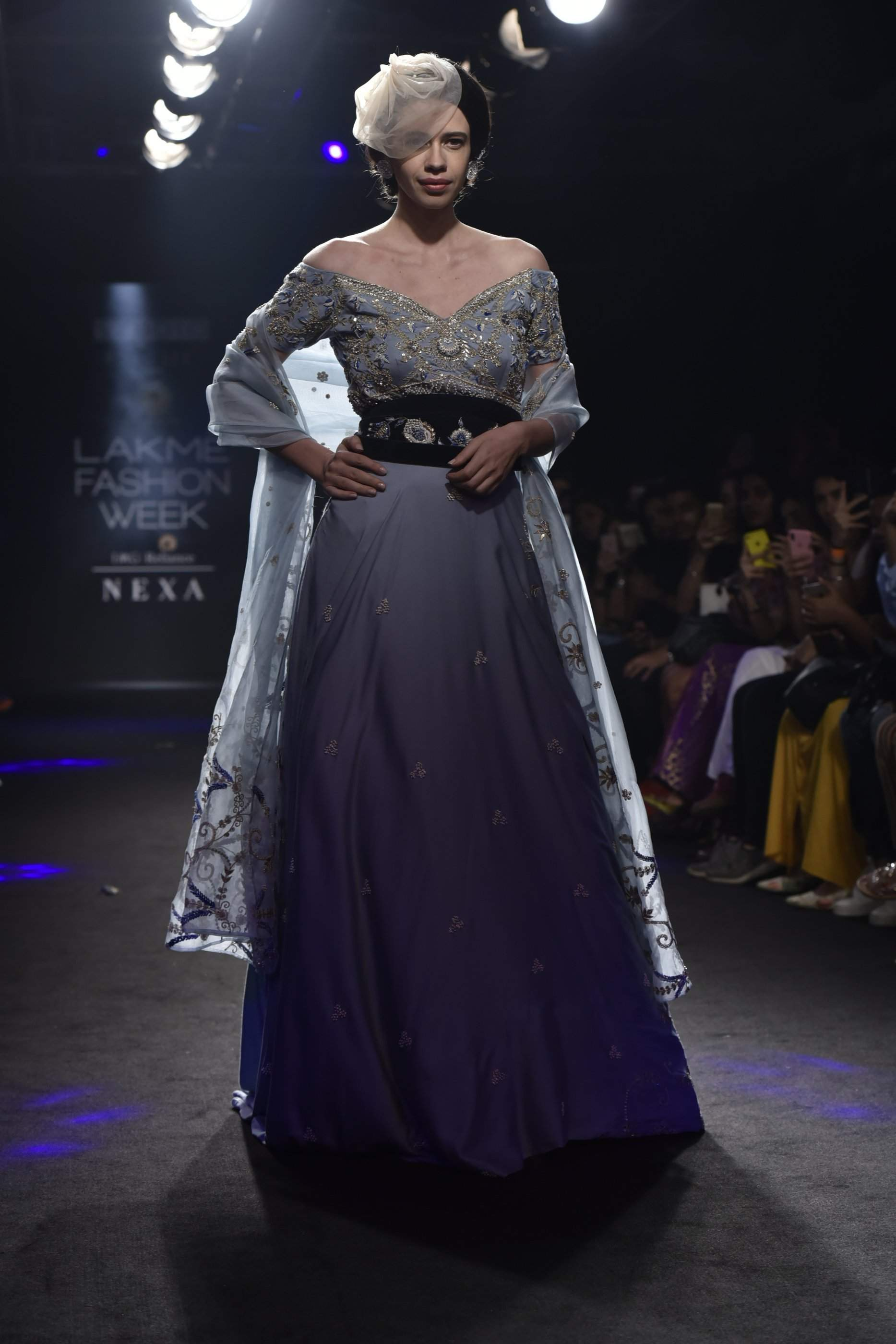 Actress Kalki Koechlin turns showstopper for Gaurav Katta at Lakme Fashion Week 2018